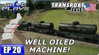 Transport Fever BOS-WASH Part 20 - WELL OILED MACHINE! - Gameplay/Simulation Games 2017