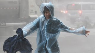 Typhoon Mangkhut barrels into south China after killing dozens in Philippines