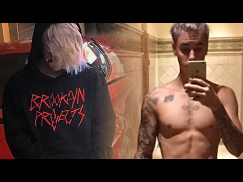 Justin Bieber Dyes His Hair Purple & Hailey Baldwin's Dad Claims They're Just Friends?