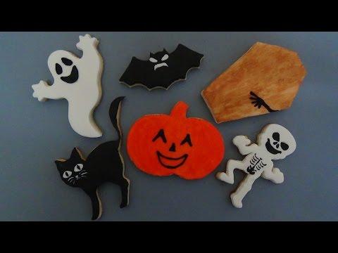 how to make halloween sugar cookies step-by-step