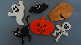 How To Make Halloween Sugar Cookies Step-by-step