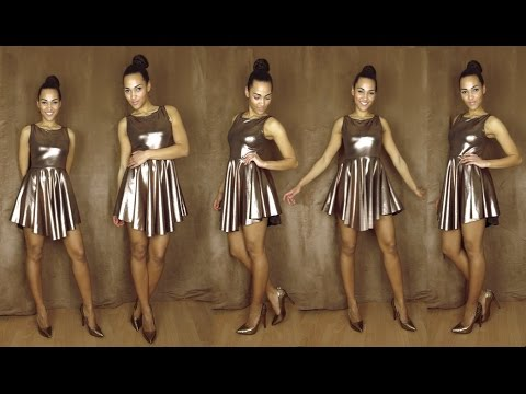 DIY Partykleid nähen / sew a party dress - YouTube