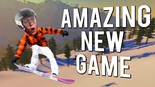 The SESSION Of Snowboard Games! | The Snowboard Game - First Impressions
