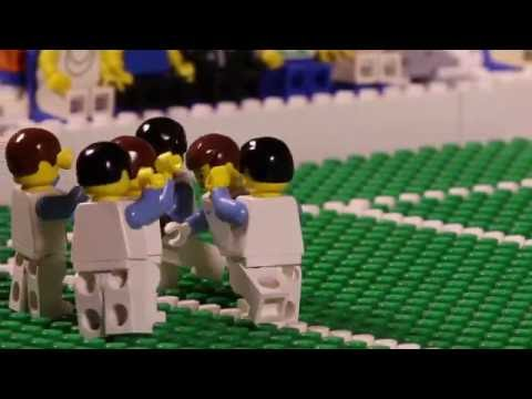 EURO 2016: England vs. Wales Goals & Highlights in LEGO - Bricksports.de