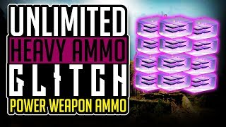 Destiny 2 UNLIMITED HEAVY AMMO GLITCH for Any  Power Weapon