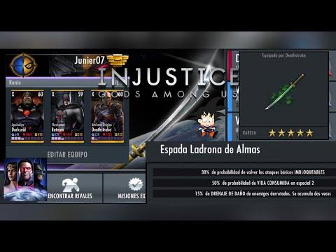 Injustice Gods Among Us Android Info Katana Antigua / Espada Ladrona De Almas Es Bueno? from YouTube · Duration:  23 minutes 34 seconds