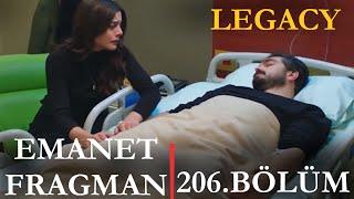Emanet 206. Bölüm Fragmanı SENİ SEVEN ÖLDÜ ZALİM | Episode 206.Promo (English &