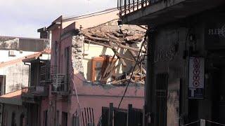 """Terremoto a catania, zafferana dopo la scossa: """"ce lo aspettavamo, dormivamo vestiti"""""""