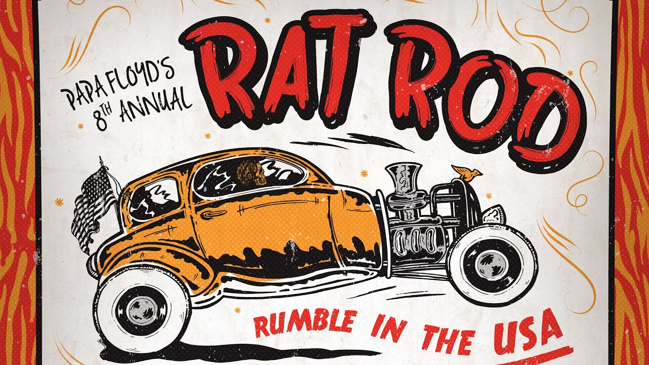 How to Design a Bold Hot Rod Poster: Illustrator and Photoshop ...