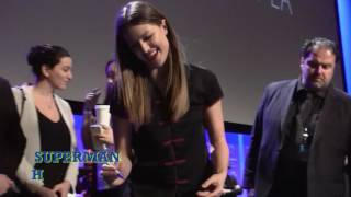 CW Cast Stage Signings - Melissa Benoist, Grant Gustin, Brandon Routh, & Candice Patton