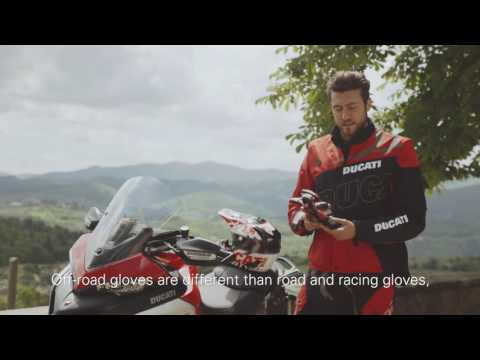 Multistrada 1200 Enduro apparel: interview with Andrea Rossi
