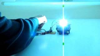 10 Watt LED test 12 volts @ 1 amp