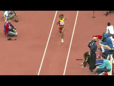 Thumbnail: Oops! moment of a female triple jumper, Nuth Ndoumbe