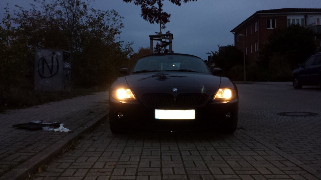 Bmw Z4 Headlight Change Youtube