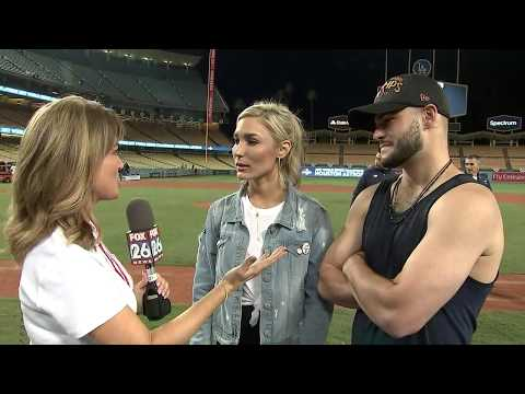 Postgame interview with Lance McCullers Jr. & Kara McCullers after Astros win World Series