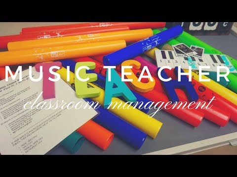 MUSIC TEACHER CLASSROOM MANAGEMENT // discipline, behavior plan, & routines