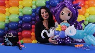 Mermaid! Balloon Magic - The Magazine Bonus Video Featuring Jackie Ochitwa