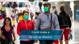 Tras cuatro meses y medio del primer caso  de coronavirus confirmado, el país  ocupa el quinto sitio en fallecimientos por coronavirus  en el continente americano, con un índice de mortalidad de 10.9%