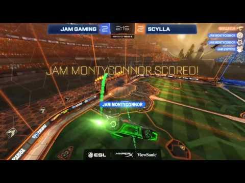 Jam Gaming vs. Scylla - Rocket League ESL AU & NZ Championship - Matchday #3