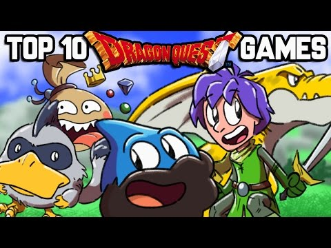 Top 10 Dragon Quest Games - The Completionist