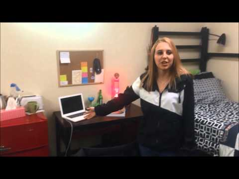 Weber State Housing Tour: Stewart Wasatch Hall 2 Double Rooms