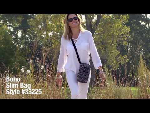 Boho Slim Bag from Travelon® #33225