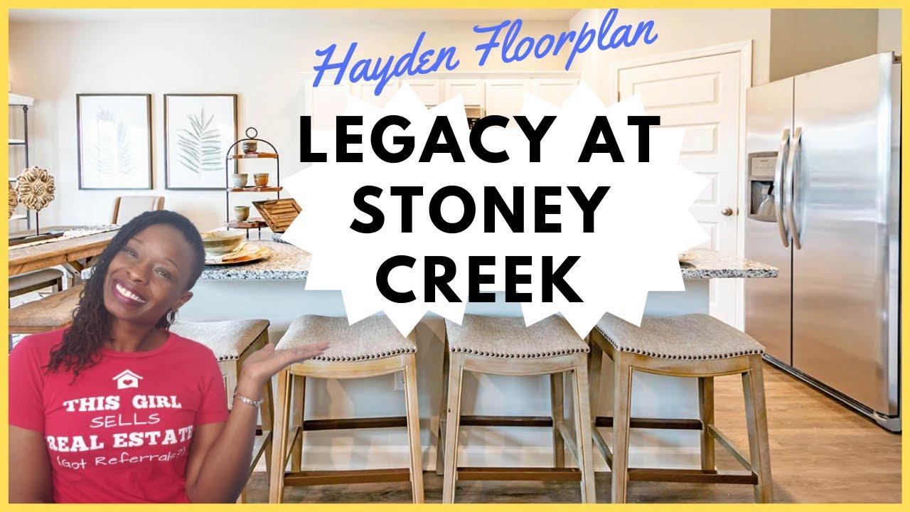 New Construction In Dekalb County Ga The Legacy At Stoney Creek Hayden Floor Plan D R Horton Youtube