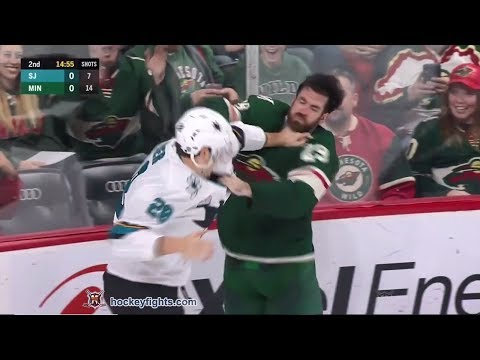 Timo Meier vs Greg Pateryn December 18th, 2018