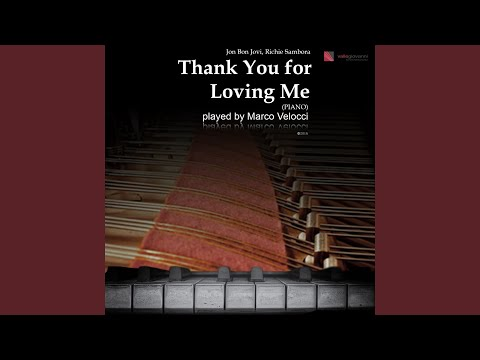 Thank You For Loving Me (Piano In C Major)