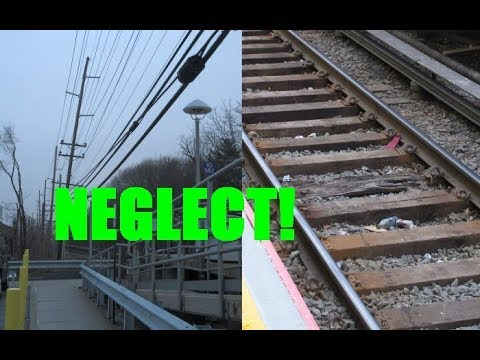 Yet More examples of neglect along the LIRR Main Line
