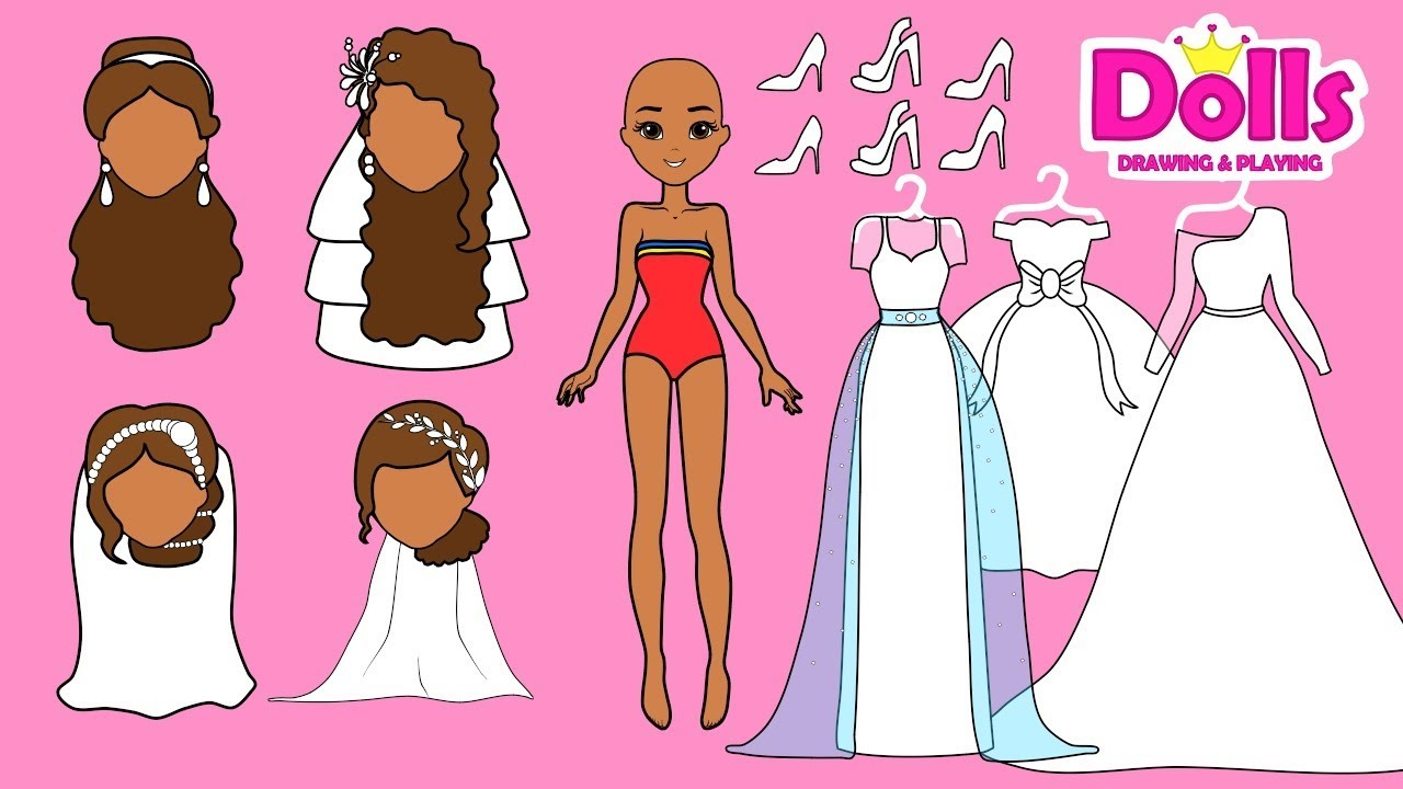 how to make paper doll clothes