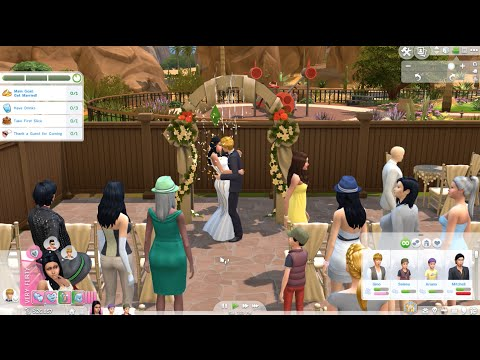 The Sims 4 Luxury Party Stuff (Wedding Party)