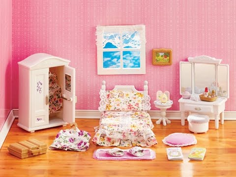 calico critters bedroom calico critters s room unboxing 10974