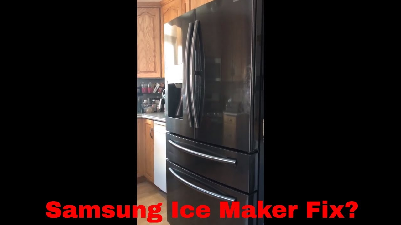 Samsung Ice Maker Repair - Finally after 2 years!