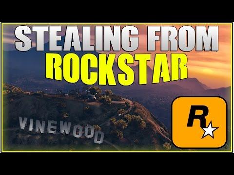GTA 5 Online: PLAYERS STEALING FROM ROCKSTAR!   (Rockstar Scamming)