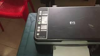 Como Resetear Impresora HP F4180.