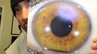 Iridology analysis. Eyes are the window to the soul