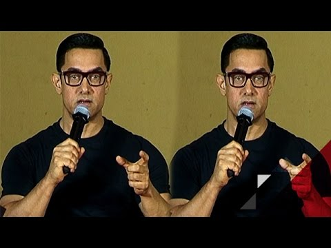 Aamir Khan explains the meaning of Dangal...