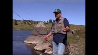 how to fish with a pistol pete bubble spinning rod setup