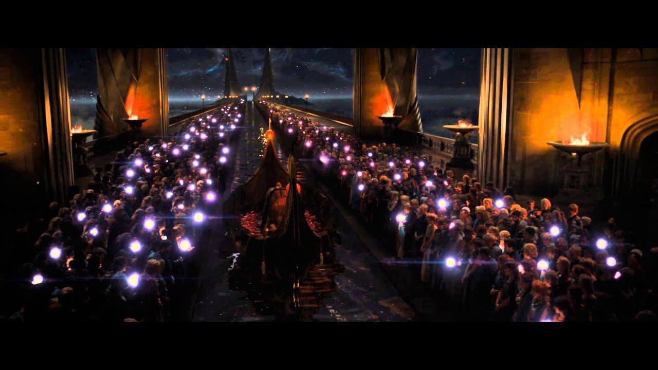 Thor - The Dark World - Frigga's funeral scene - YouTube