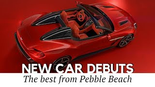 10 Amazing New Cars at the 2017 Pebble Beach Concept Lawn (Video Review)