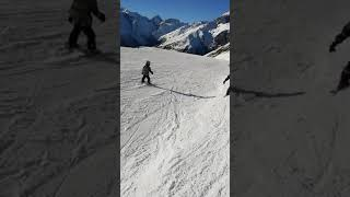 Домбай горнолыжный курорт номер 1 России 1