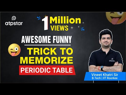 Periodic table song in hindi lyrics download mp3 824 mb 2018 awesome funny trick to memorize periodic table urtaz Choice Image
