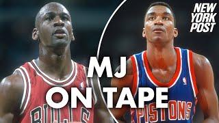 Michael Jordan on tape: I didn't want Isiah Thomas on Dream Team | New York Post