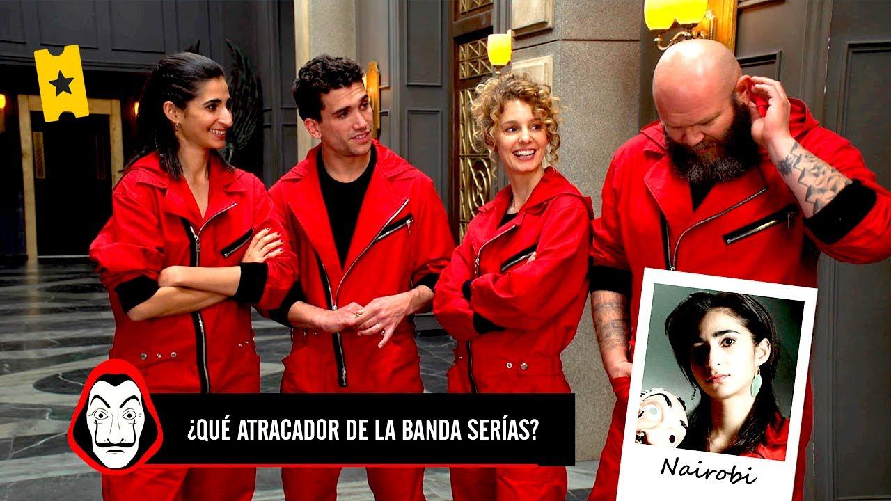 LA CASA DE PAPEL (Temporada 3)   ¿Qué papel tendría el reparto en la banda de atracadores?