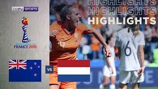 New Zealand 0-1 Netherlands | Women's World Cup Highlights