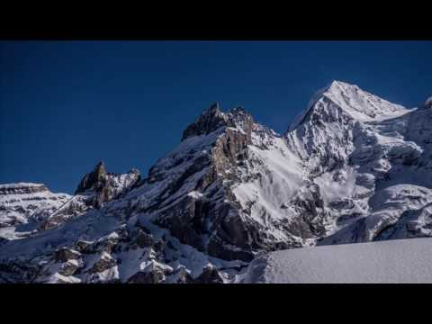 Moby's Long Ambients Track 8 set to majestic mountain pictures
