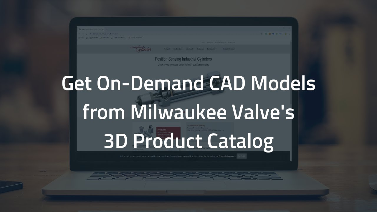 Milwaukee Cylinder Expand MILCAD 3D Product Catalog