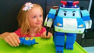 Робокар Поли Игрушка Робот Робокар Поли Распаковка Robocar Poli Toys unboxing