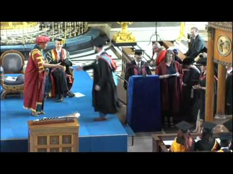 Adedayo Adedotun Adenowo MSc Safety Health Environment  graduation ceremony